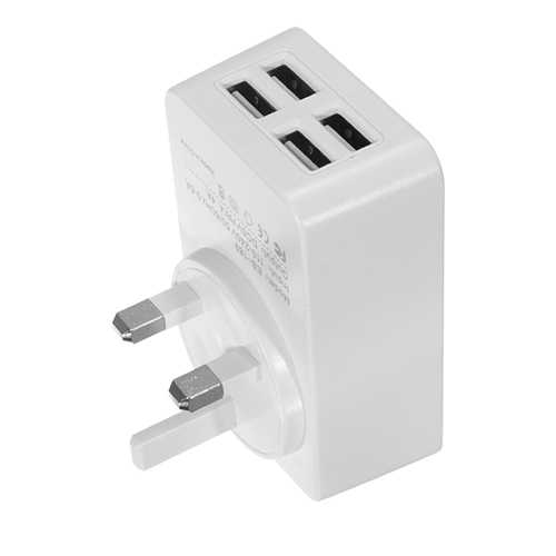 Earldom 5V 4.4A Multi-port USB Charger Adapter