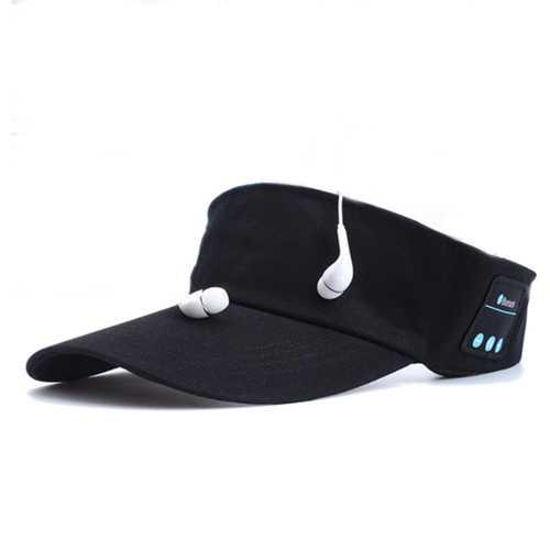 Outdoor Wireless Smart Music Speaker Headphone Hands Free Bluetooth Cap for Smartphone
