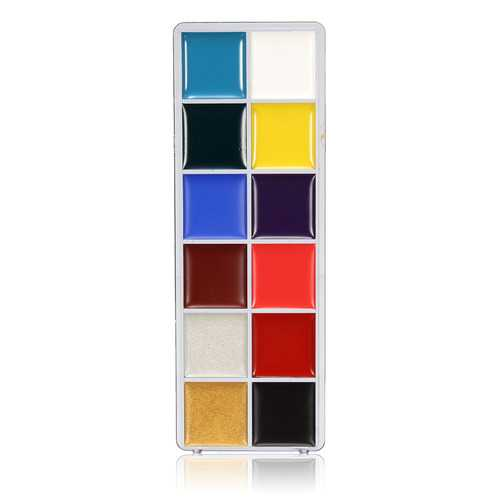 12 Colors Body Art Painting Oil Cosmetic Makeup Bright Party Facial Face Design