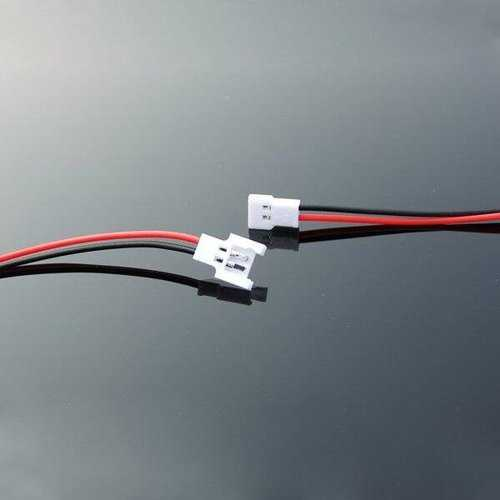 DIY 1.25mm 2-Pin Micro Male Female Connector-plug Cable for RC LIPO Battery FPV Drone Quadcopter