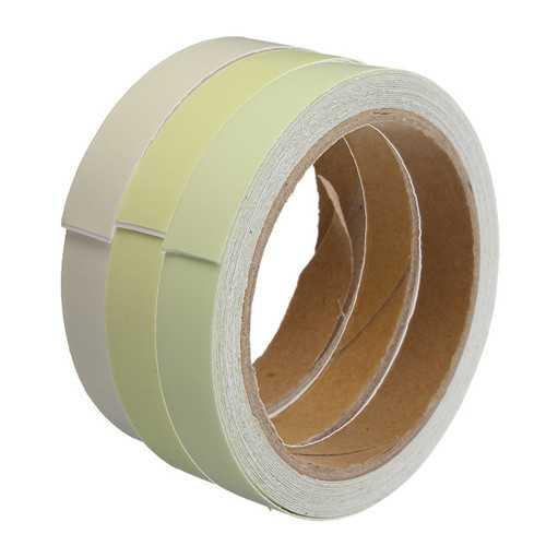 15mm×5m PET Luminous Warning Tape PVC Acrylic Storage Light Tape