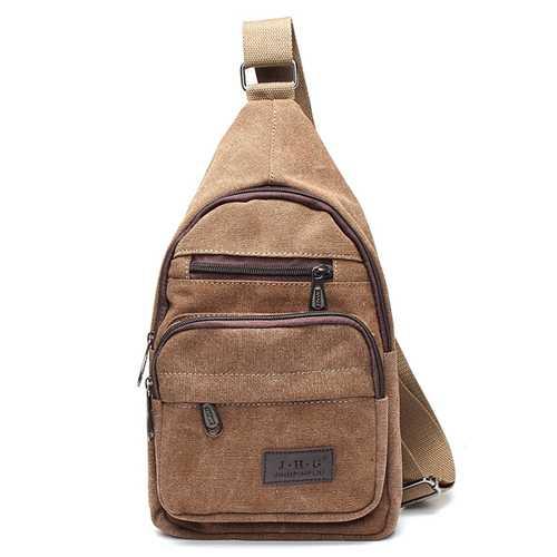 Women Men Vintage Canvas Satchel Shoulder Bag Messenger Travel Bag