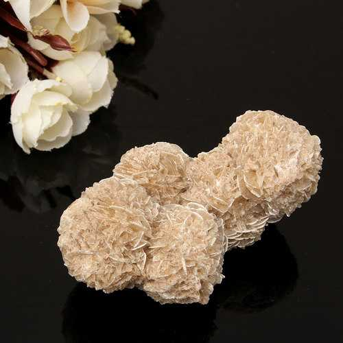 DIY Jewelry Accessories 100g Natural Selenite Crystal Stone Flower Decoration