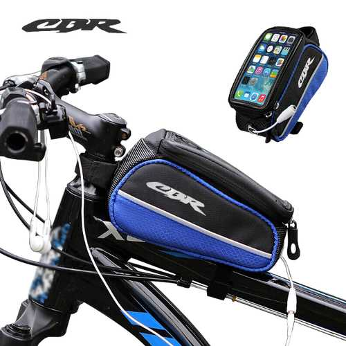 CBR Car Beam Bag Storage Bicycle Bike Frame Bag for Phone 5.5 inch or less