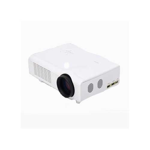 C0608 LED 1800LM Projector 1024 x 768 Pixels Support SD Card USB HDMI AV VGA Input Home Cinema Theater