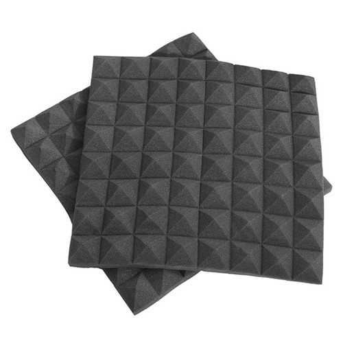 2Pcs 50x50×5cm Square Insulation Reduce Noise Sponge Foam Cotton