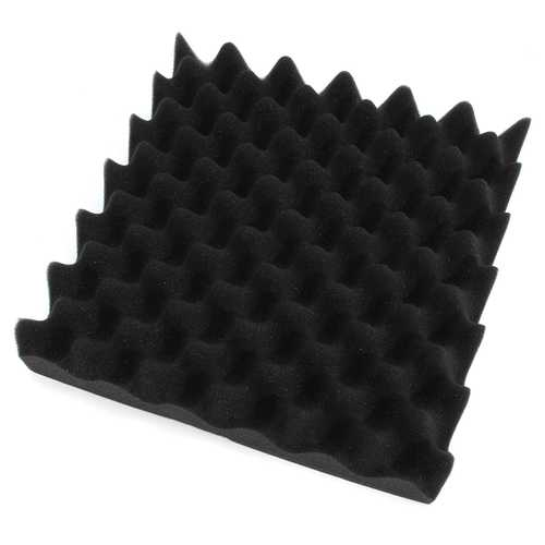 4Pcs 30x30x6cm Soundproofing Triangle Sound-Absorbing Noise Foam Tiles