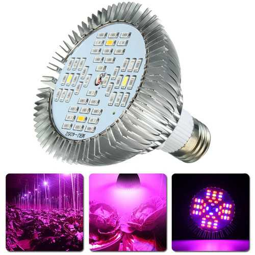 E27 15W LED Hydroponic Plant Grow Full Spectrum Indoor Light Bulb