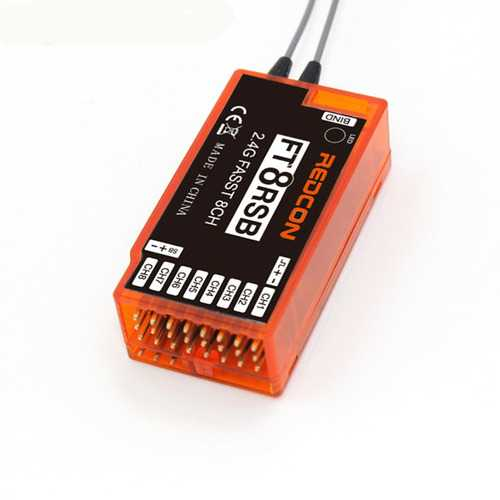 2.4GHz 8CH FT8RSB RC Receiver FASST Compatible for RC Drones