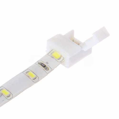 8mm/10mm 2 Pin Connector Solderless for Single Color Waterproof LED Strip