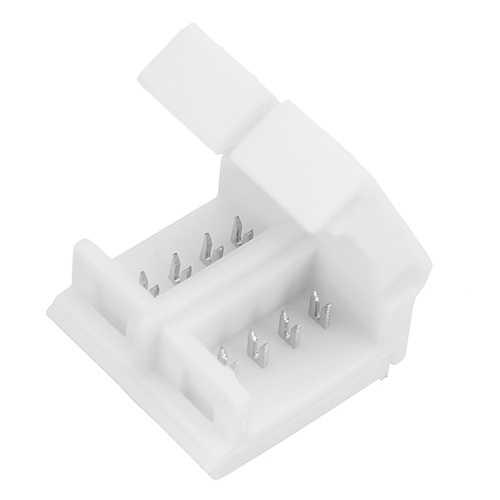 4 Pin 10mm Width Solderless Connectors for Waterproof LED RGB Strip