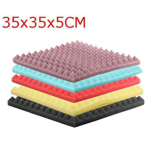 35x35x5cm Acoustic Soundproofing Sound-Absorbing Noise Foam Tiles