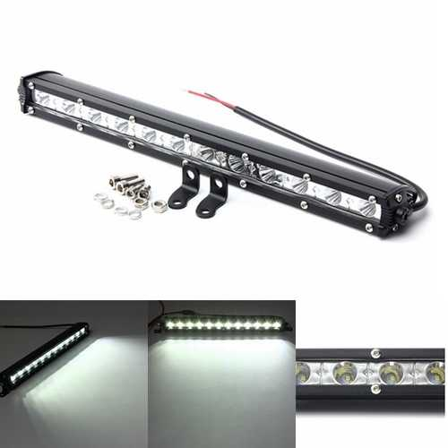 13inch 36W LED Work Light Bar Spot Flood Beam Lamp For Driving Off Road SUV ATV Truck