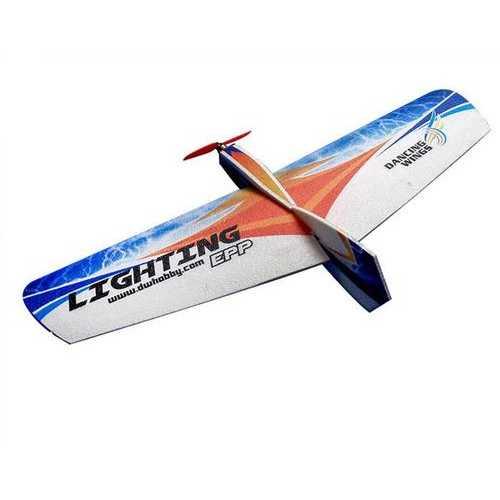 Dancing Wings Hobby DW Lighting 1060mm Wingspan EPP Flying Wing RC Airplane Training KIT