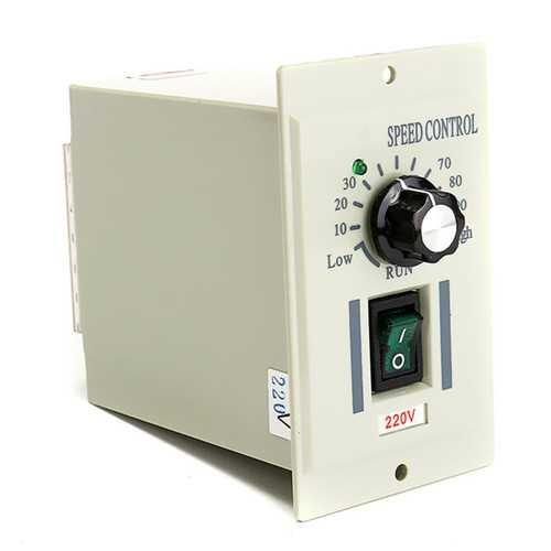 220V AC Speed Control Controller For 400W Motor Output DC 0-220V Controller