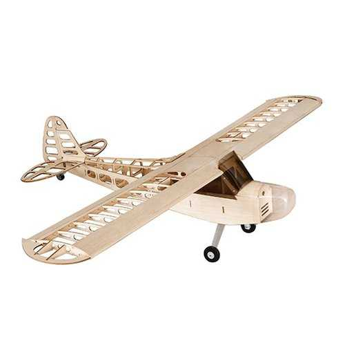 Balsawood J-3 J3 Laser Cut 1180mm Wingspan Glazing Ang Cowl RC Airplane KIT V2