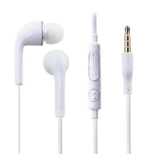 3.5mm In-Ear Wired Control Headset Earphone Headphone With Microphone
