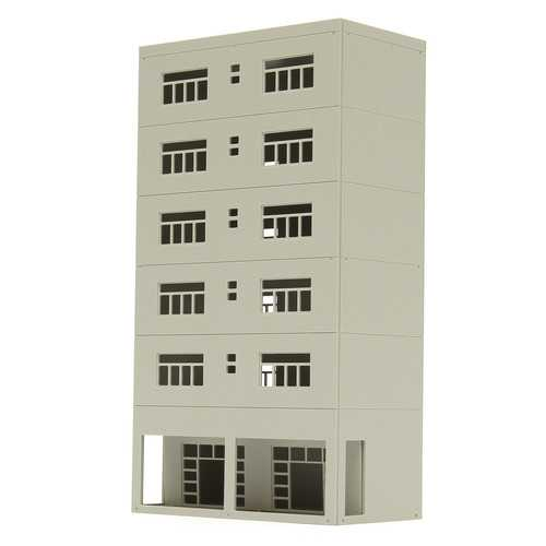 1/87 Models Railway Modern 6-Story Business Office N Scale For Sandbox
