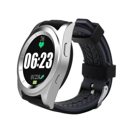 NO.1 G6 MT2502 240*240 380mAh bluetooth 4.0 Heart Rate Smart Watch