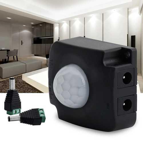 DC12-24V 10A Automatic Infrared PIR Motion Sensor Switch For LED Strip Light