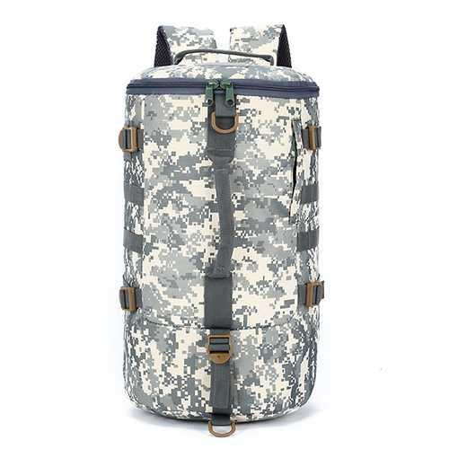 Large Capacity Men Multifunctional Travel Crossbody Bag Nylon Outdoor Backpack