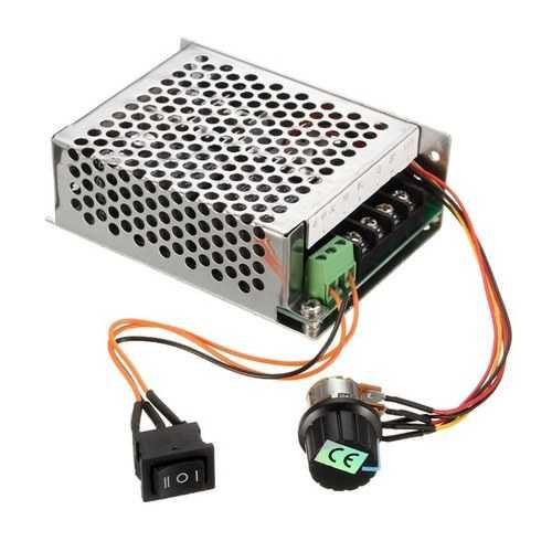 10-50V 40A PWM DC Motor Speed Controller Regulator CW CCW Reversible Pulse Driver