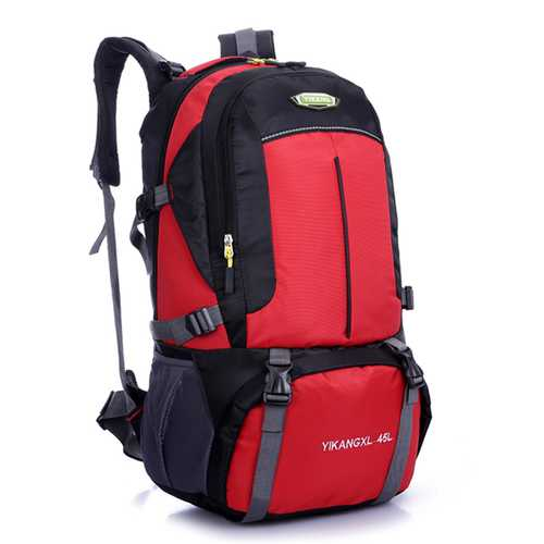 45L Large Capacity Travel Hiking Nylon Men Backpack Casual Mountaineering Backpack