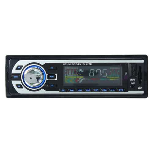 2127 Car Auto LCD Stereo Audio In Dash FM Aux Input Receiver SD USB MP3 Radio Player