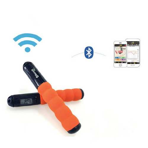 Bluetooth Smart Step Record Jump Rope Student Fitness Wireless Rope Skipping