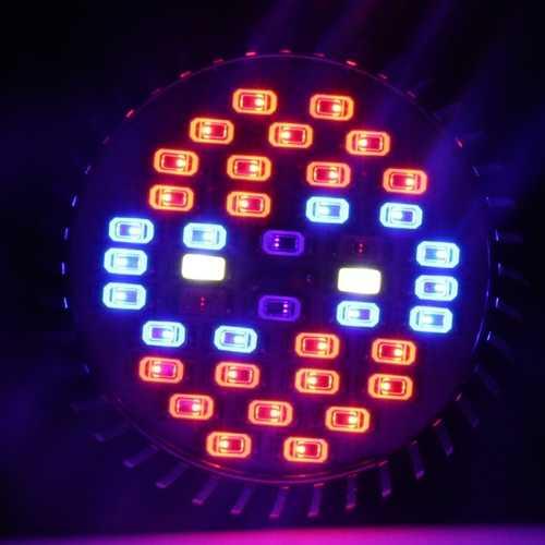 ZX 30W E27 Full Spectrum 40 LED Plant Grow Lamp Bulb Garden Greenhouse Plant Seedling Light