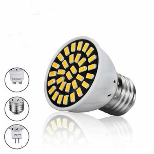 E27 GU10 MR16 8W 32 SMD 5733 LED Pure White Warm White Spot Lightting Lamp Bulb 220V