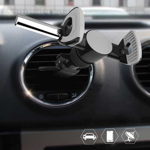 360 Degree Adjustable Universal Mini Car Air Vent Mount Holder for Phone 3.5-6 inch