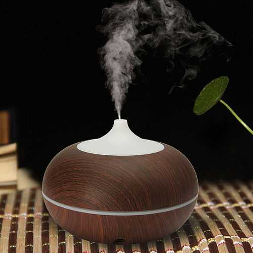 300ml Color-changing LED Ultrasonic Humidifier Essential Oil Diffuser Aroma Spray Aromatherapy Air Purifier