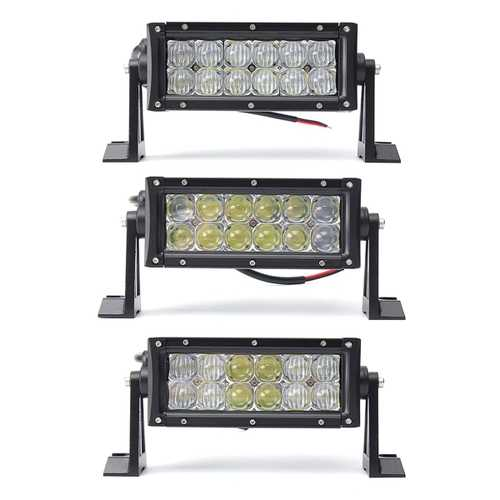 7.5inch 36W 3600LM Combo Spot Flood Beam LED Work Light Bar For Off Road Driving Lamp 4WD Truck Car