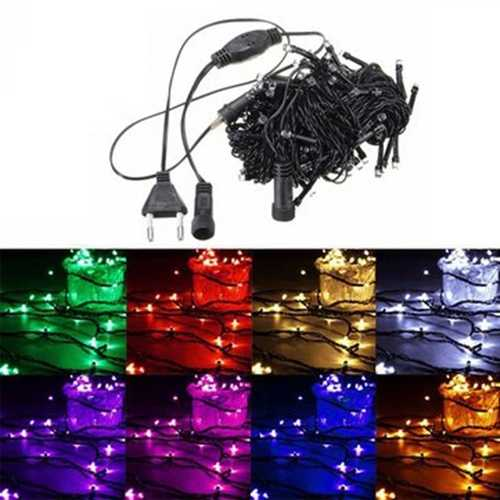 15M 150 LED String Fairy Light Outdoor Christmas Xmas Wedding Party Lamp 220V