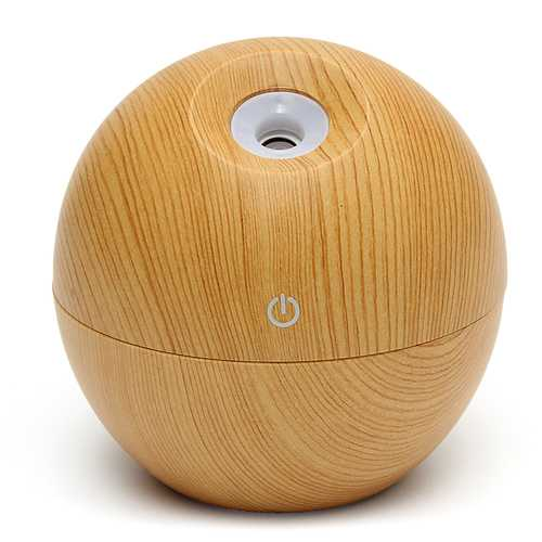 130ml USB Ultrasonic Humidifier Color-changing LED Aromatherapy Essential Oil Diffuser Aromatherapy