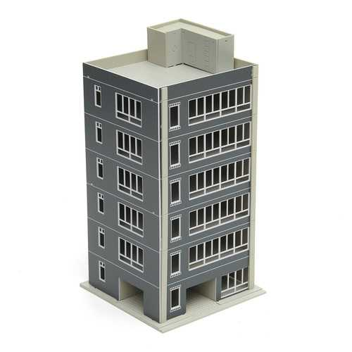 1:100 Scale Painted Residential Gauge Model Train Layout For Sand Box