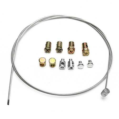 Motorcycle Throttle Cable Repair Kit For YAMAHA/SUZUKI/KAWASAKI/HONDA