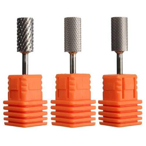 "1pc 3/32"" Nail Art Drill Machine Bits Files Electric Manicure Tools Carbide Grinding Polish Head"