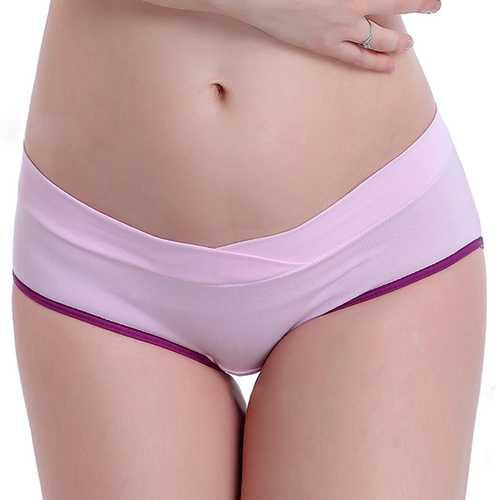 Pregnancy U-shaped Seamless Cotton Panties