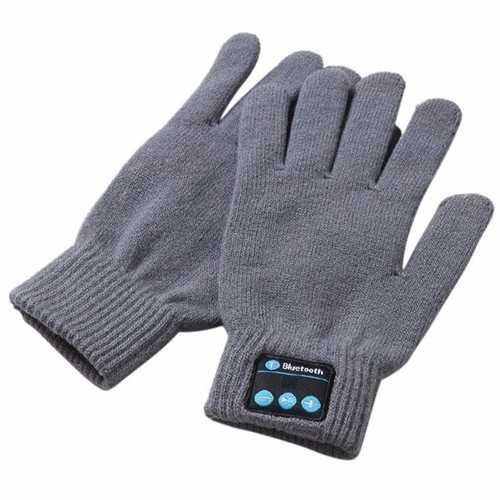 Winter Smart Bluetooth Gloves Touch Screen Mobile Headset Speaker Hand Gesture Talking Gloves