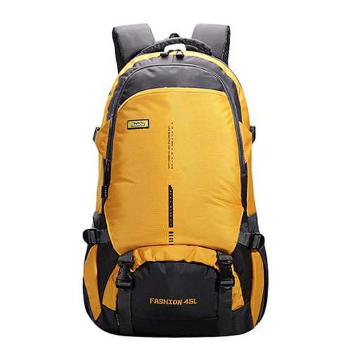 45L Large Capacity Men Women Nylon Waterproof Casual Backpack