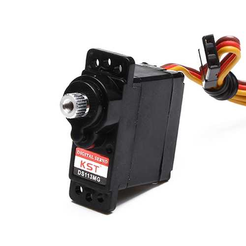 KST DS113MG Mini Metal Gear Servo for 450 RC Helicopter Swashplate