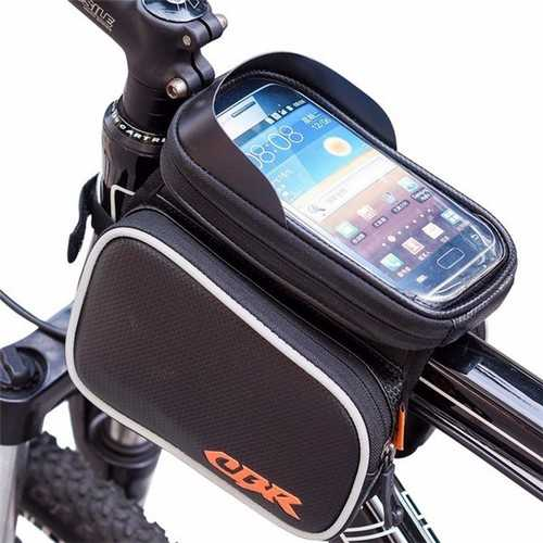 CBR Universal Touch Screen Waterproof Bag Saddle Bag Mountain Bike Bag for under 6 inch Smartphone