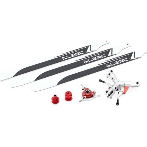 ALZRC Devil 380 420 FAST Three Blade Rotor Helicopter Upgrade TBR Set