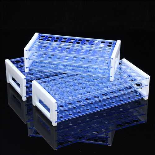 40/50 Holes Vents Plastic Centrifugal Deck Test Tube Rack Holder Laboratory