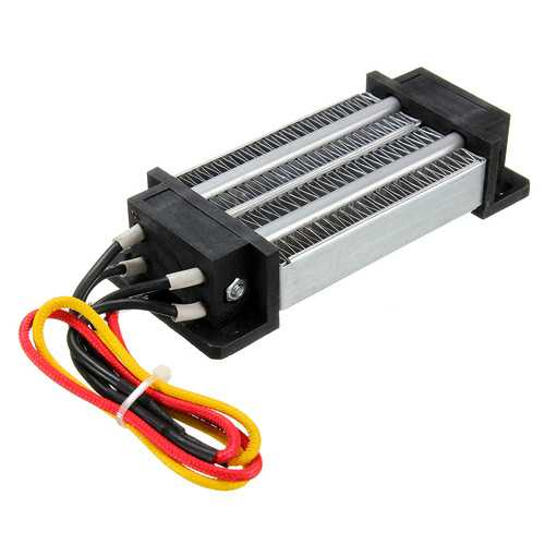 12V 200W Electric Ceramic Thermostatic PTC Heating Element Heater