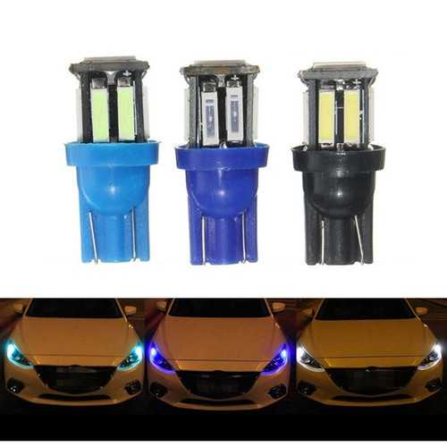 1.6W 300LM T10 W5W LED Side Maker Light Headlamp Fog Driving Bulb