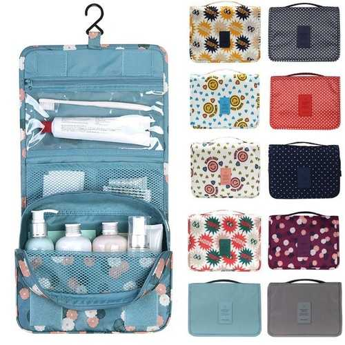 Honana BX-111 Waterproof Travel Wash Cosmetic Bag Compact Cube Pouch Storage Bag Mesh Organizer