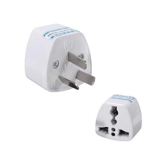 Universal Power Plug Travel Adapter 3 Pin Converter 250V 10A US UK EU to AU AC